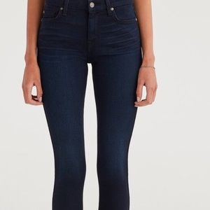Skinny High Waisted Stretch 7 For All Mankind Jean